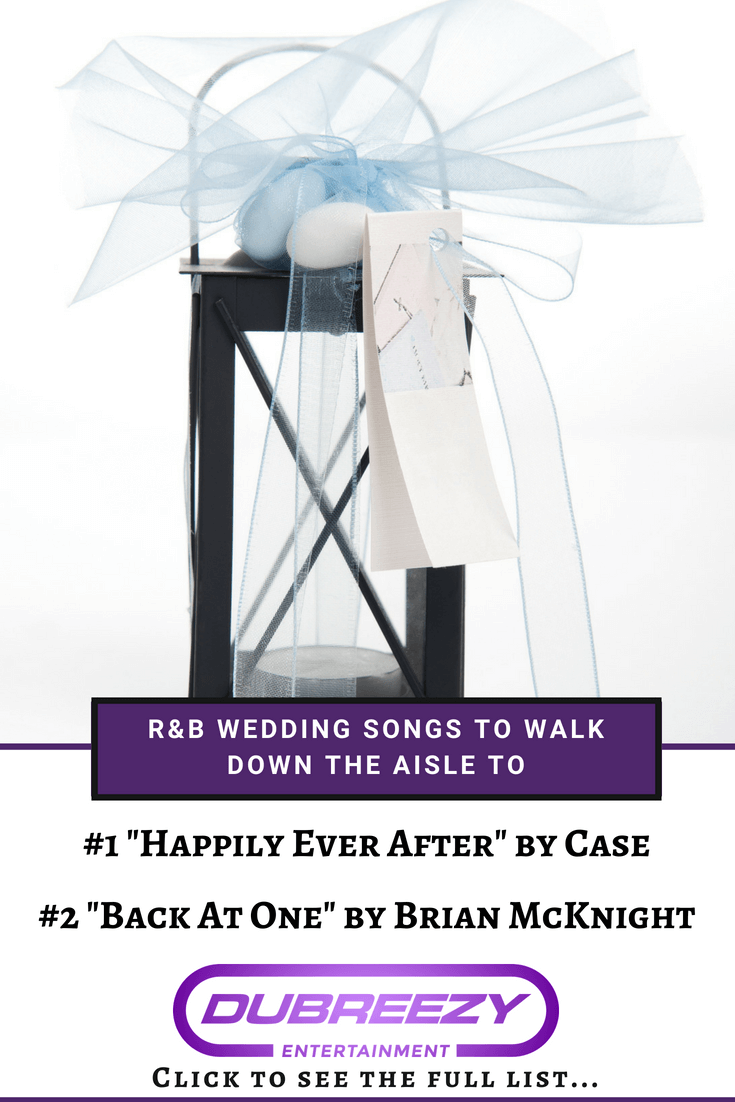 R&B Wedding Songs to Walk Down the Aisle To Wedding