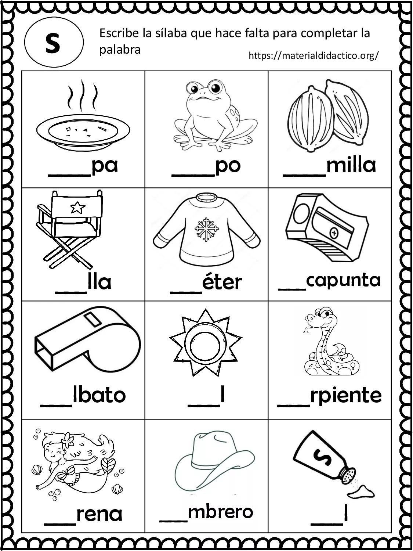 Yo Aprendo Las Silabas