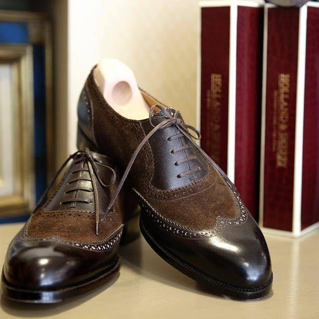 Roberto Ugolini @roberto_ugolini_bespoke_shoes  #robertougolini #bespokeshoes #firenze  #coccinella #bespokesalon #osaka