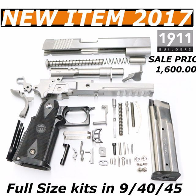 Charming Kits Have 4140 Slide And Frame With Billet Machine Grade Parts. Kit Comes  With 1) 10 Round Magazine. Kits Come In 9/40/45 #1911builders #1911 ...