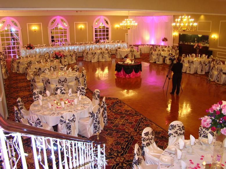 Wedding Reception Head Table Setup Head Table With