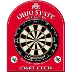 Ohio State University Buckeyes Dart Board Back Room Equipment