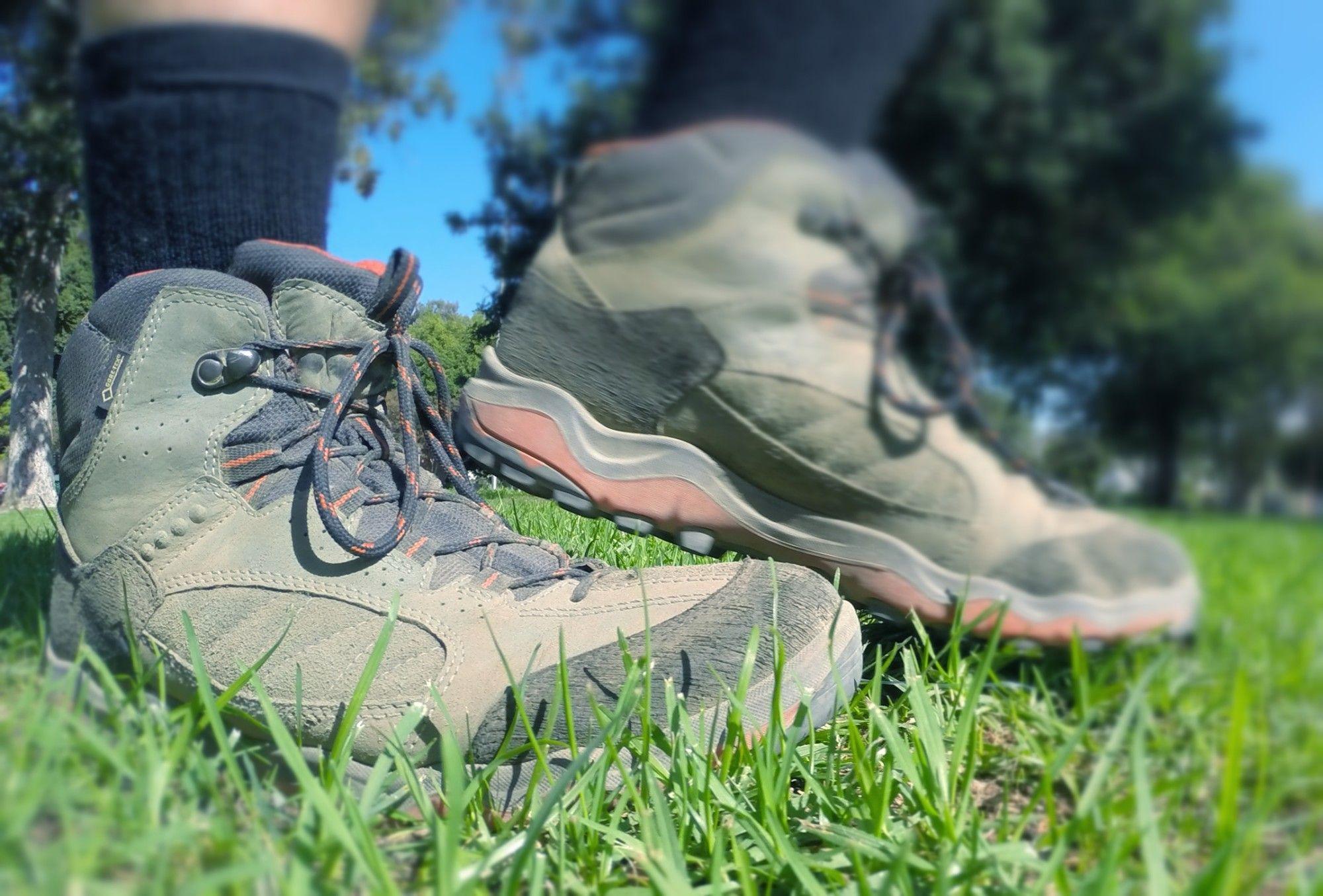 Gear Review Ecco Ulterra Mid Gtx Boot Socal Hiker Boots Outdoor Gear Mid