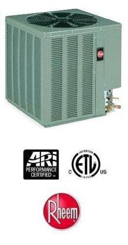 2 5 Ton 15 Seer Rheem Heat Pump 15pjl30a01 By Rheem 1659 00 Single Stage Heat Pump R 410a Heat Pump For Spl Efficient Heating Split System Home Kitchens