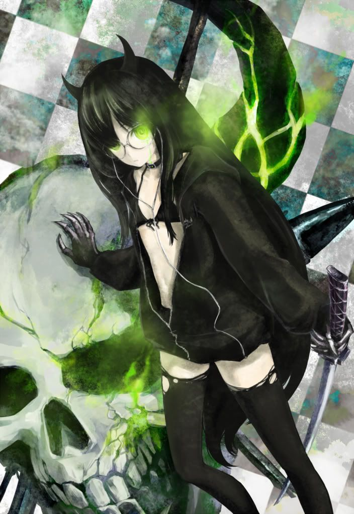 black rock shooter/ dead master Anime Art Pinterest