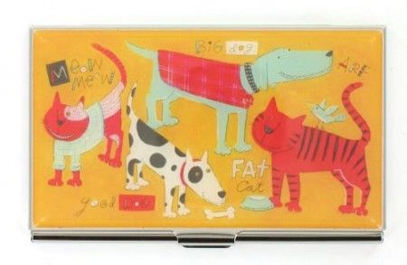 Porte cartes de visite ACME Cats & Dogs