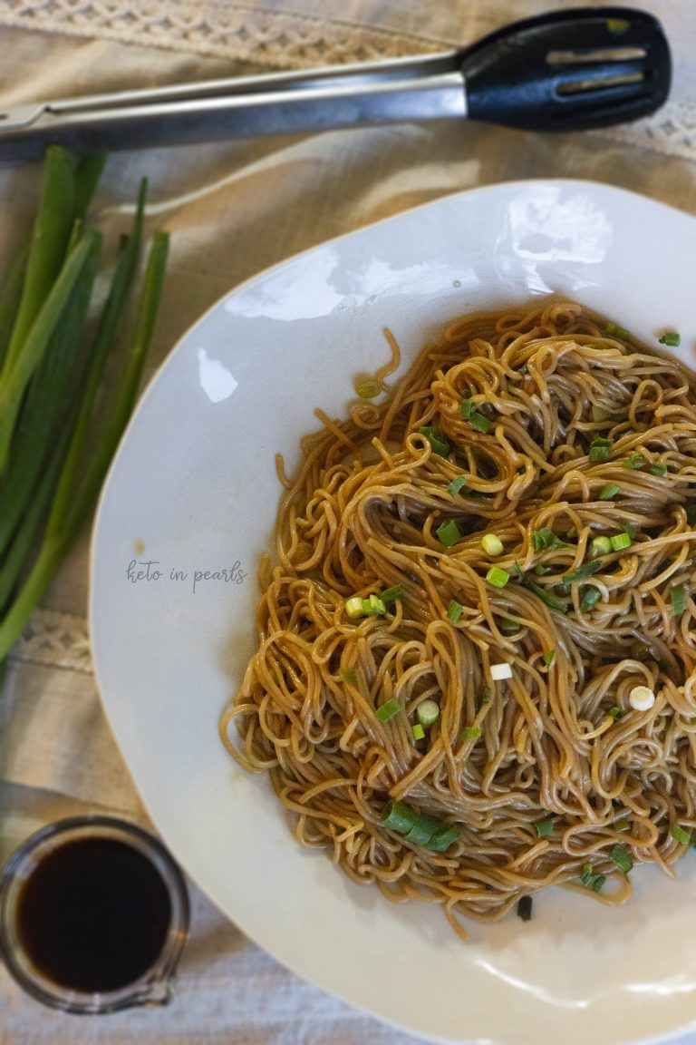 Marinated Konjac Noodles Make The Perfect Keto Lo Mein An