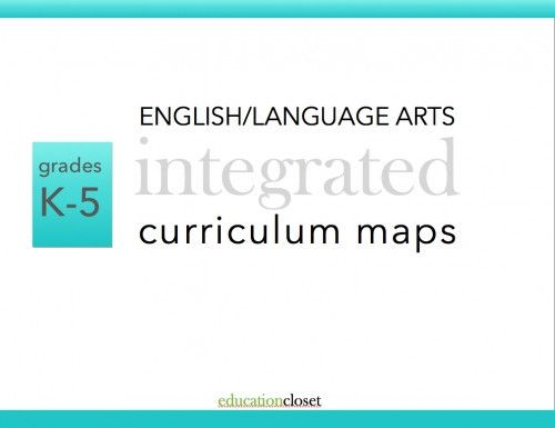 This SET of K-5 E/LA Integrated Curriculum Maps provide you with a ...