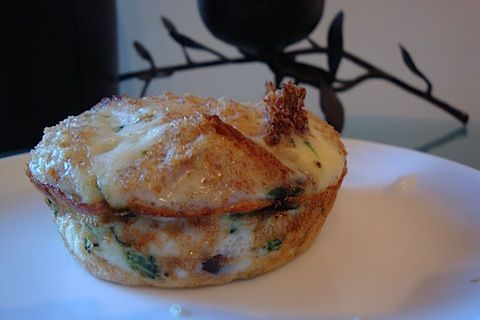 Low-carb egg white breakfast muffins.  Recipe video:  http://youtu.be/IojRFSyid7M
