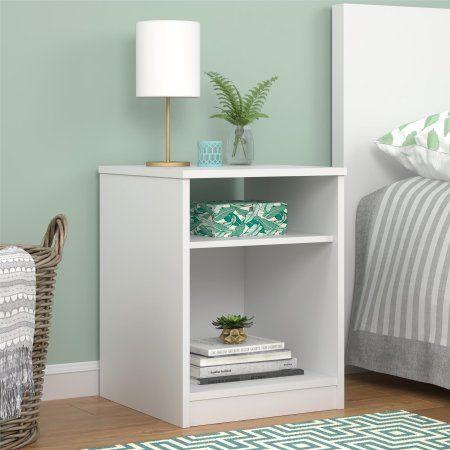 Mainstays Classic Open Shelf Nightstand Espresso Walmart Com In 2021 Classic Bedroom Furniture Storage Furniture Bedroom Shelf Nightstand