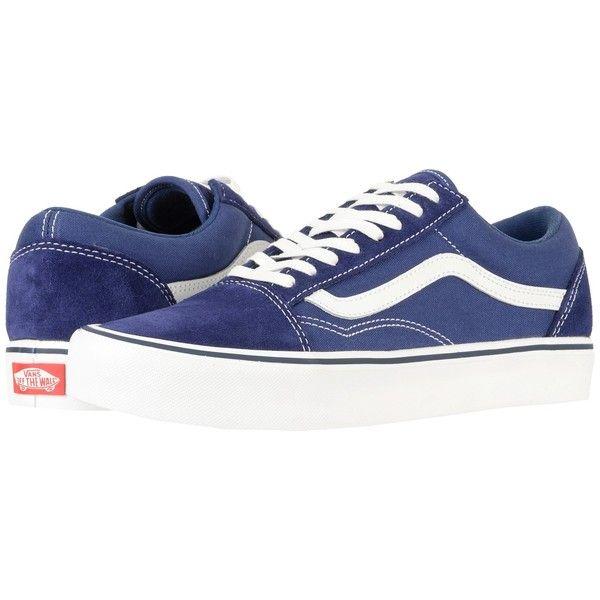 Vans Old Skool Lite (SuedeCanvas) Skate Zapatos Azul