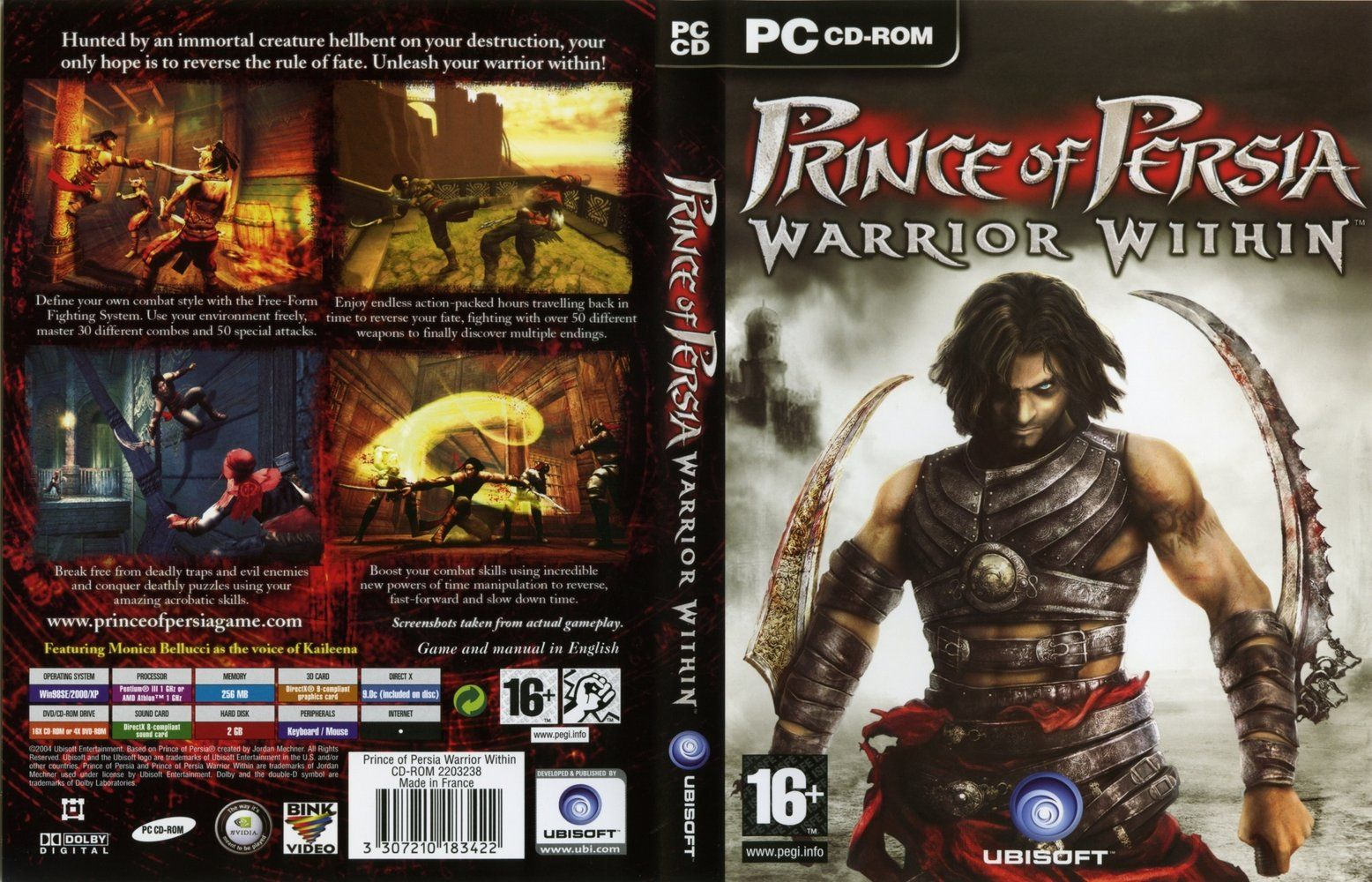 Prince Of Persia Warrior Within I Play At Ps2 Prince Of Persia Warrior Within Warrior