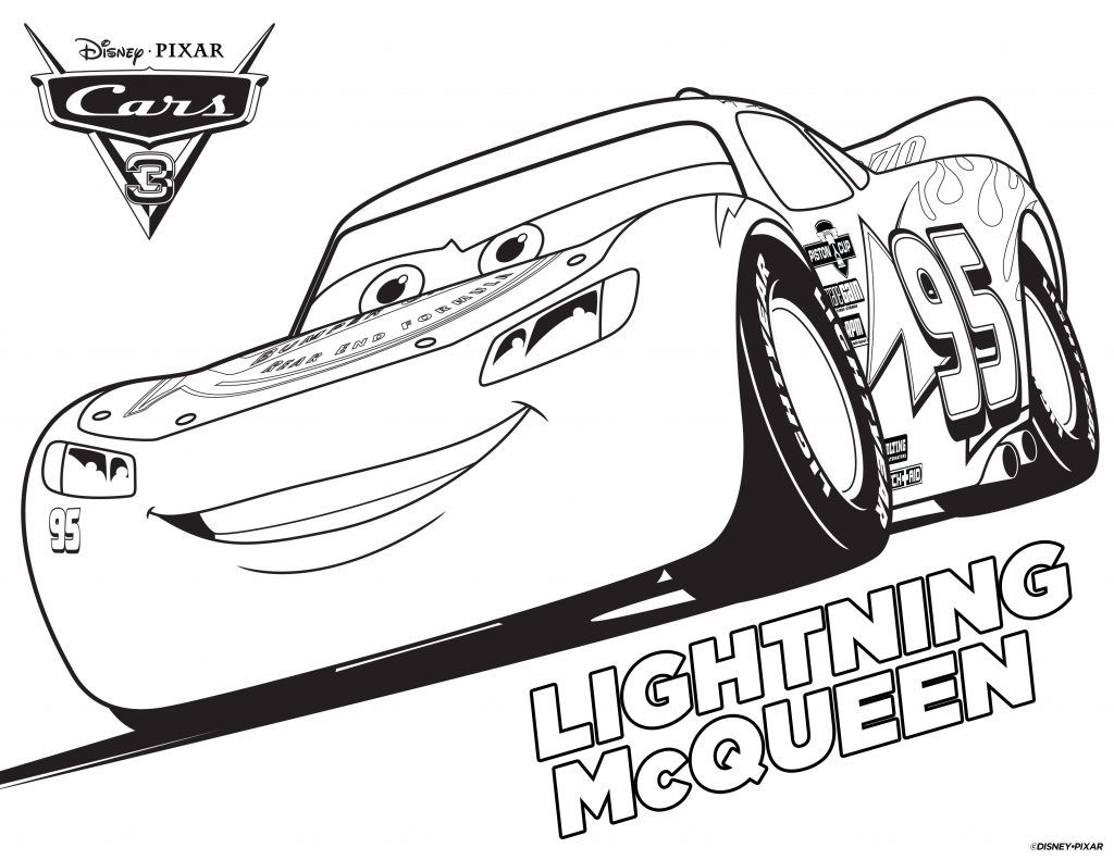 Cars Coloring Pages Disney crafts Cars and Lightning mcqueen