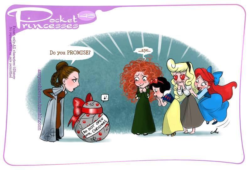 If Disney princesses lived together...
