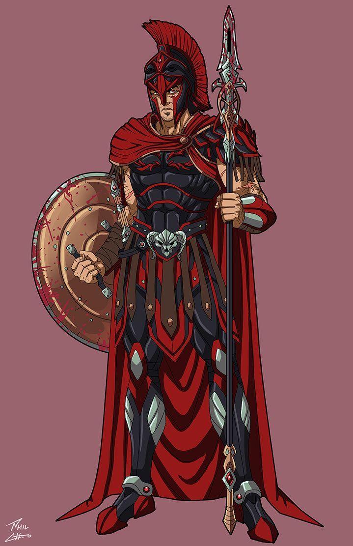 Ares - Damascus | Greek gods, goddesses, Greek gods ...