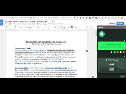 Add Voice Comments to Google Docs with Kaizena, a Google Docs Add-on - Google Docs Budget Spreadsheet