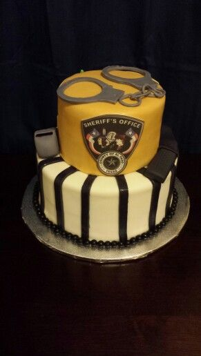 Peachy Sheriff Cake El Paso County Texas Sheriff Office Detention Personalised Birthday Cards Vishlily Jamesorg