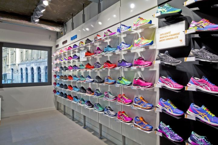36fb71cbd The HOME of ASICS Flagship Store by Wests Design, Paris – France ...