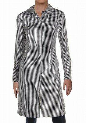 Anne Klein Women's Jacket White Black Size 10 Raincoat Gingham Plaid $169 #058 #fashion #clothing #shoes #accessories #women #womensclothing (ebay link)
