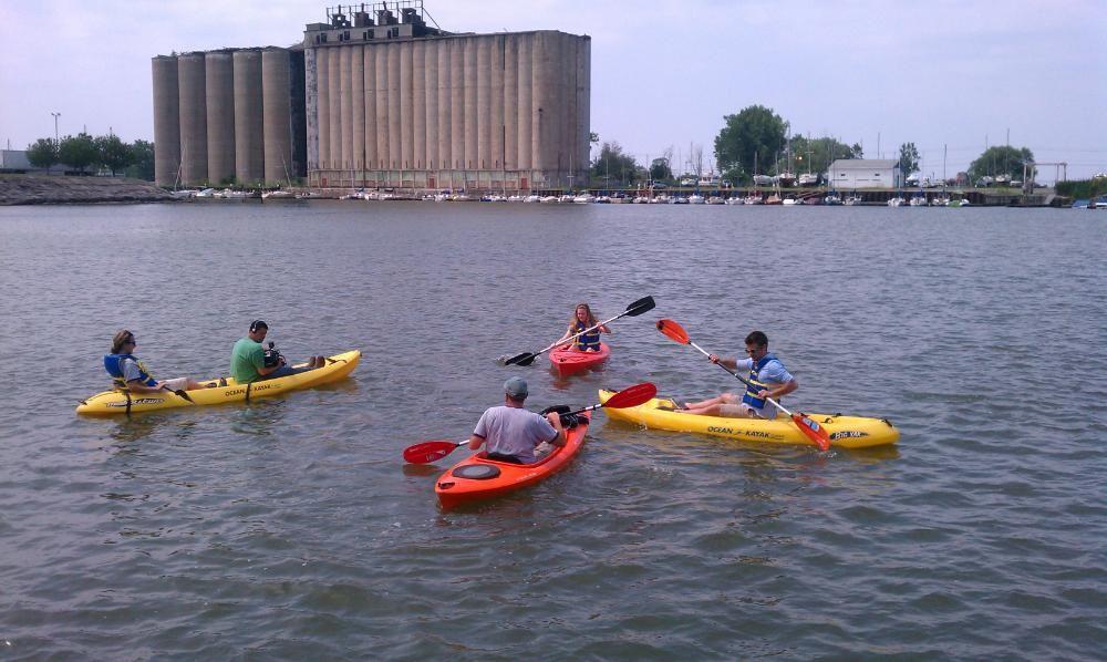 Buffalo harbor kayak silo city paddle tour saturdays