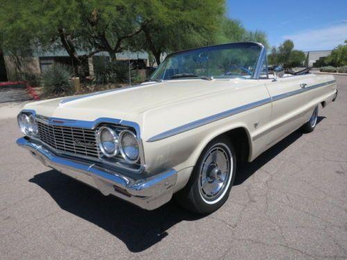 1964 Chevrolet Impala Convertible Chevrolet Impala Impala