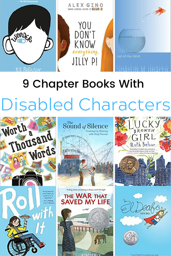 9 Chapter Books With Disabled Characters Chapter Books