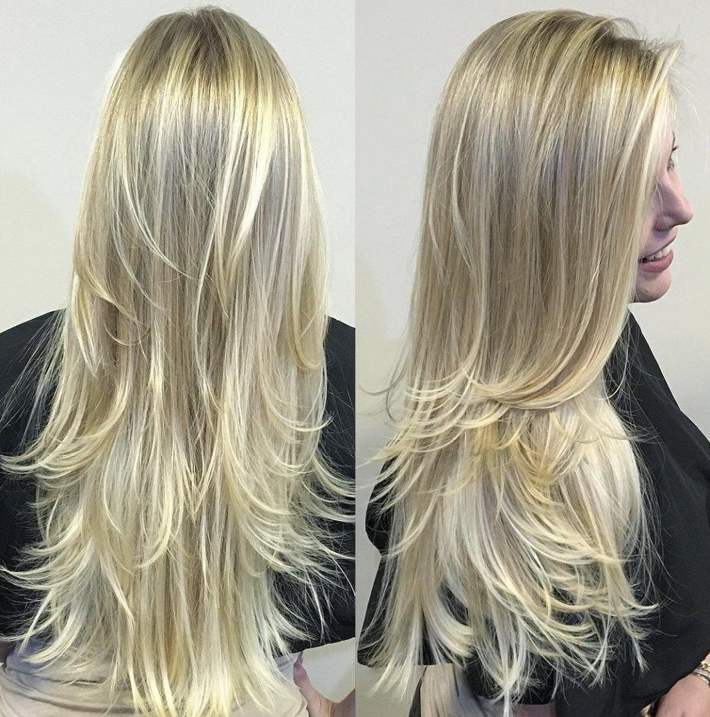 cute layered hairstyles and cuts for long hair long hai blonde