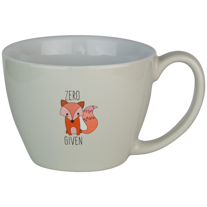 Ten Strawberry Street Zero Fox Given Tea Mug