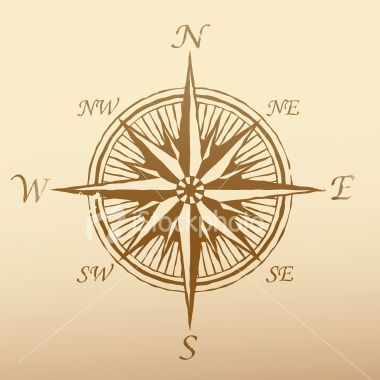 Antique Compass Rose Compass rose with old vintage | Decorating ...