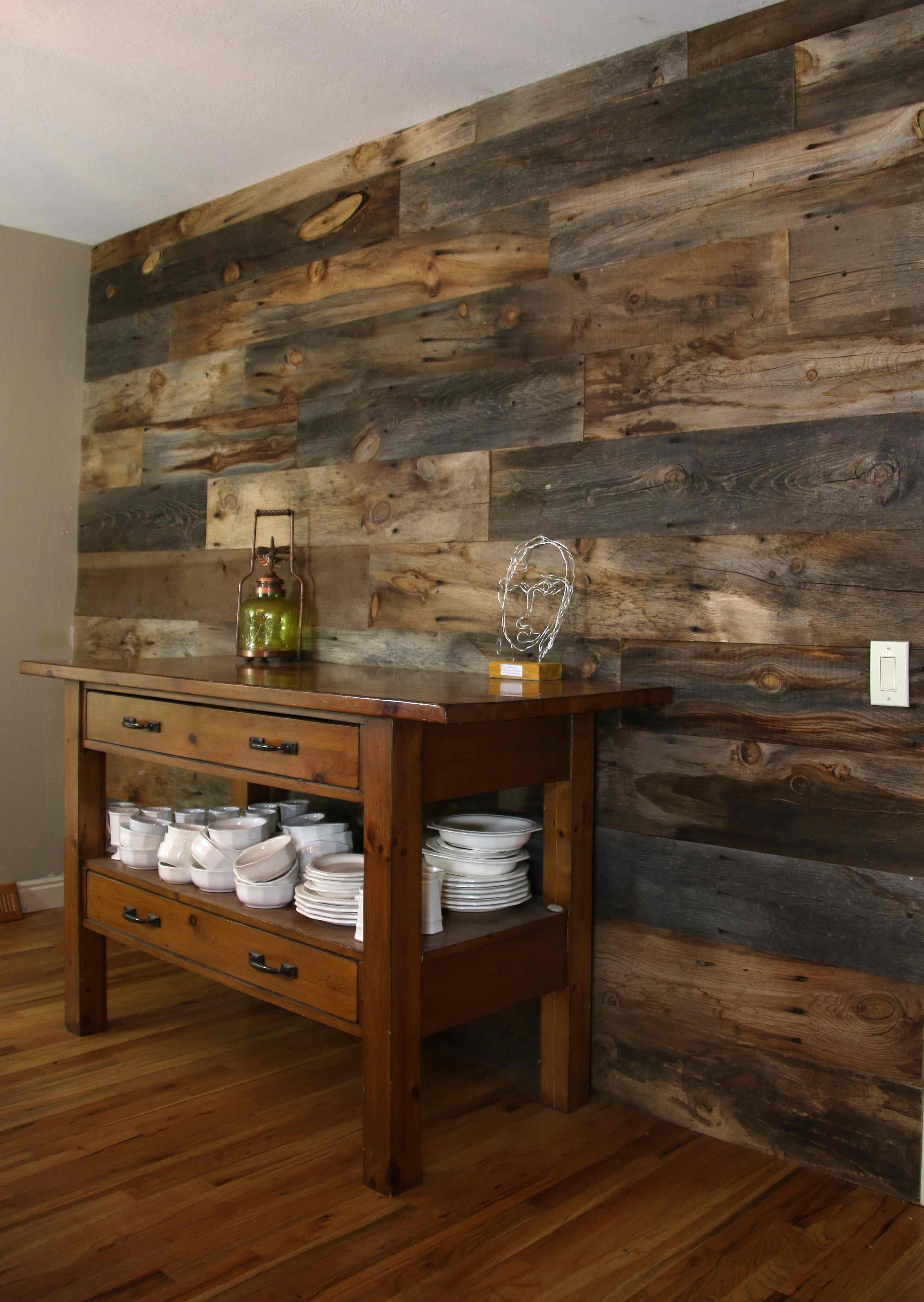 Decorative Wood Walls And Paneling Board Bolt Reclaimed Wood