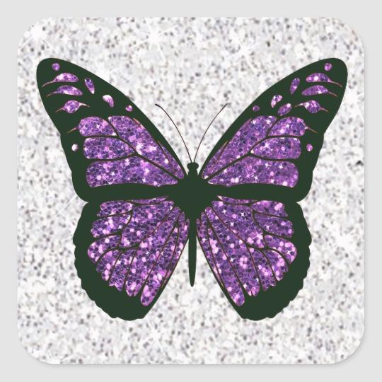 Aesthetic Pink Butterfly Sticker