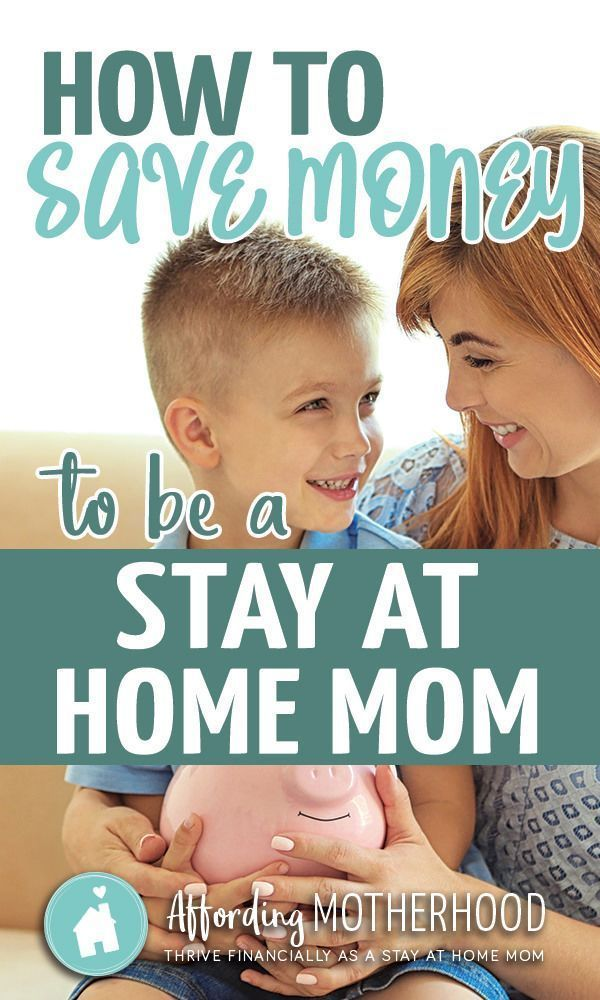 How to Save Money to Be a Stay at Home Mom #stayathome