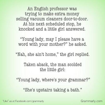 Pin By Grammarly On Humor English Jokes Grammar Jokes Grammar Humor