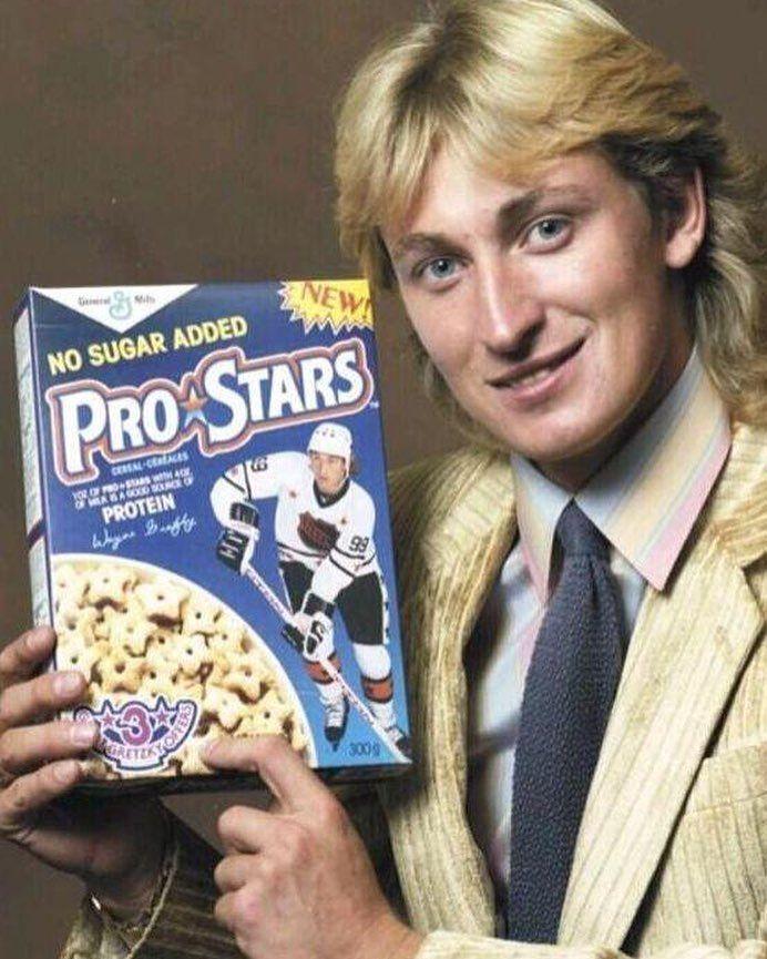 Wayne Gretzky, Cookie Crisp Cereal