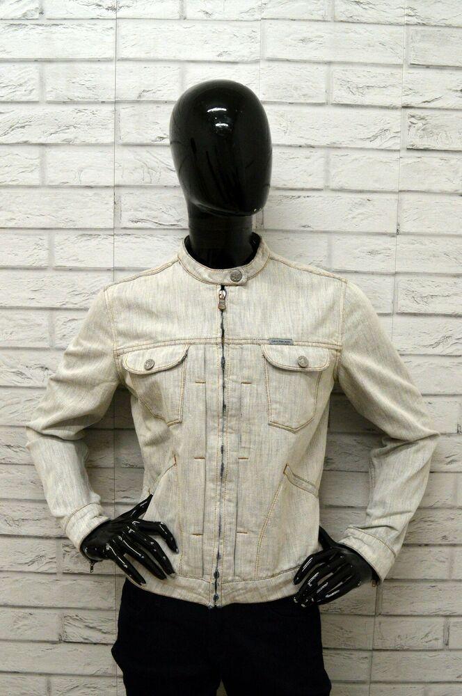 outlet store aff8c 557e8 Giubbino in Jeans CALVIN KLEIN Donna Taglia Size L Giubbotto ...