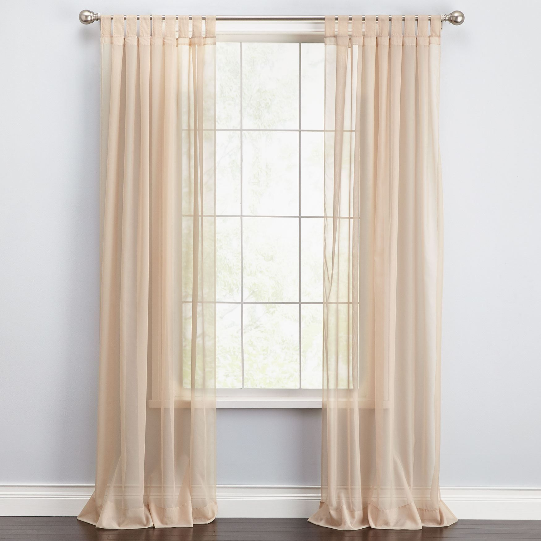 Brylane Home Sheer Curtains