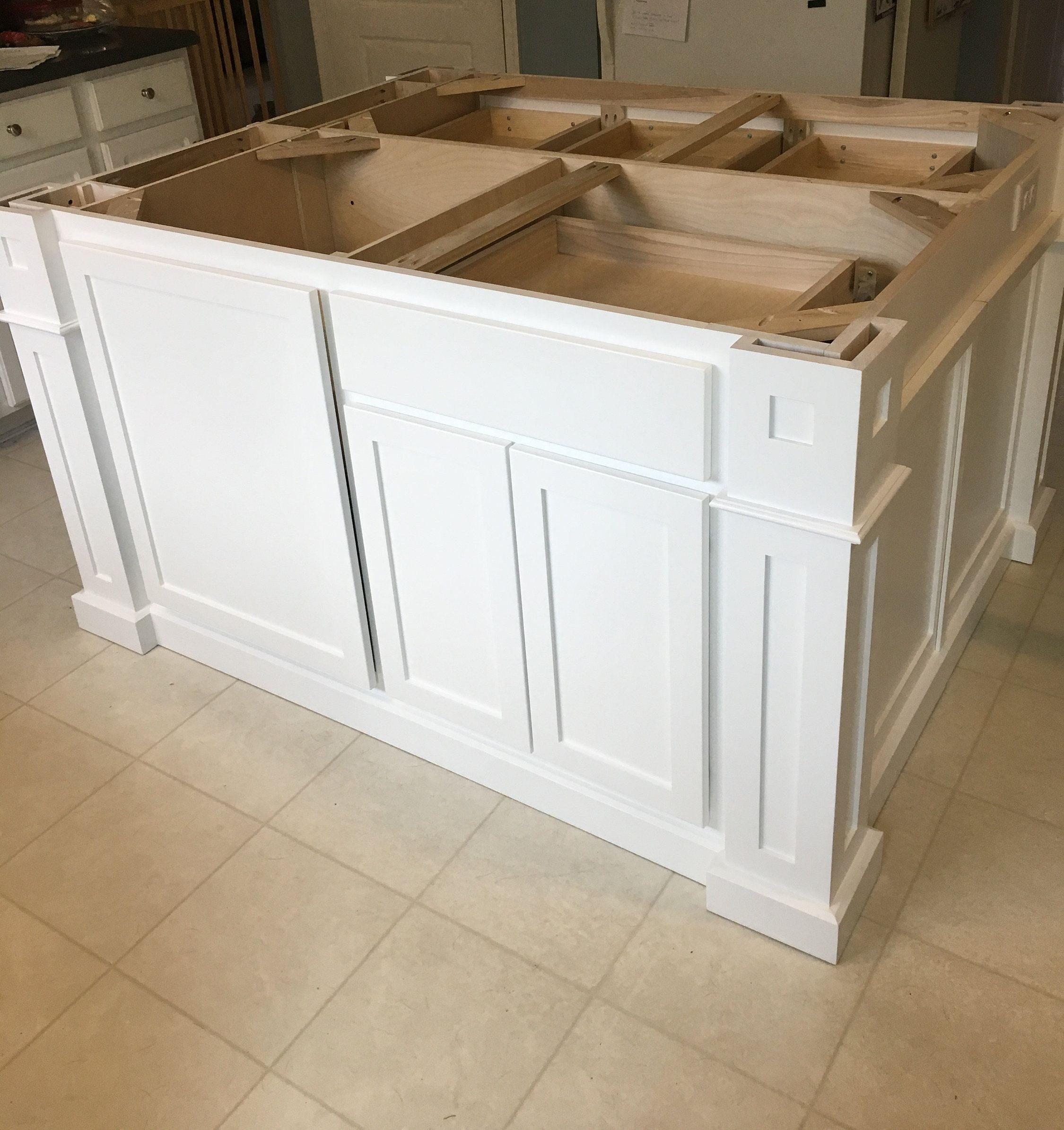 Item 125 Custom Kitchen Island With Table Seating Etsy Custom Kitchen Island Kitchen Islands For Sale Kitchen Island Table