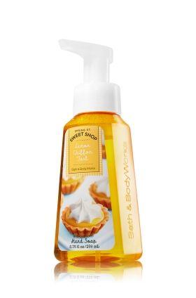 Lemon Chiffon Tart Gentle Foaming Hand Soap - Anti-Bacterial - Bath & Body Works