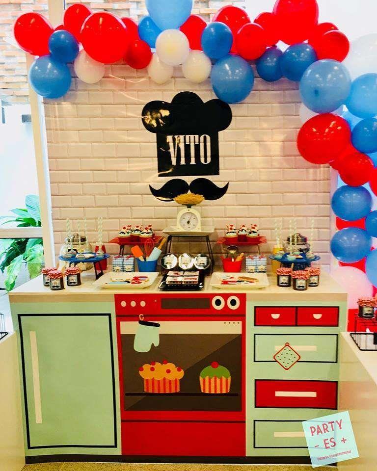 Baking Birthday Party