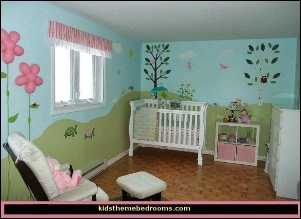 Baby Garden Theme Nursery Decorating Ideas