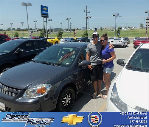 Crossroads Chevrolet Cadillac Would Like To Say Congratulations To Megan  Johnston On The 2008 Chevrolet Cobalt ...
