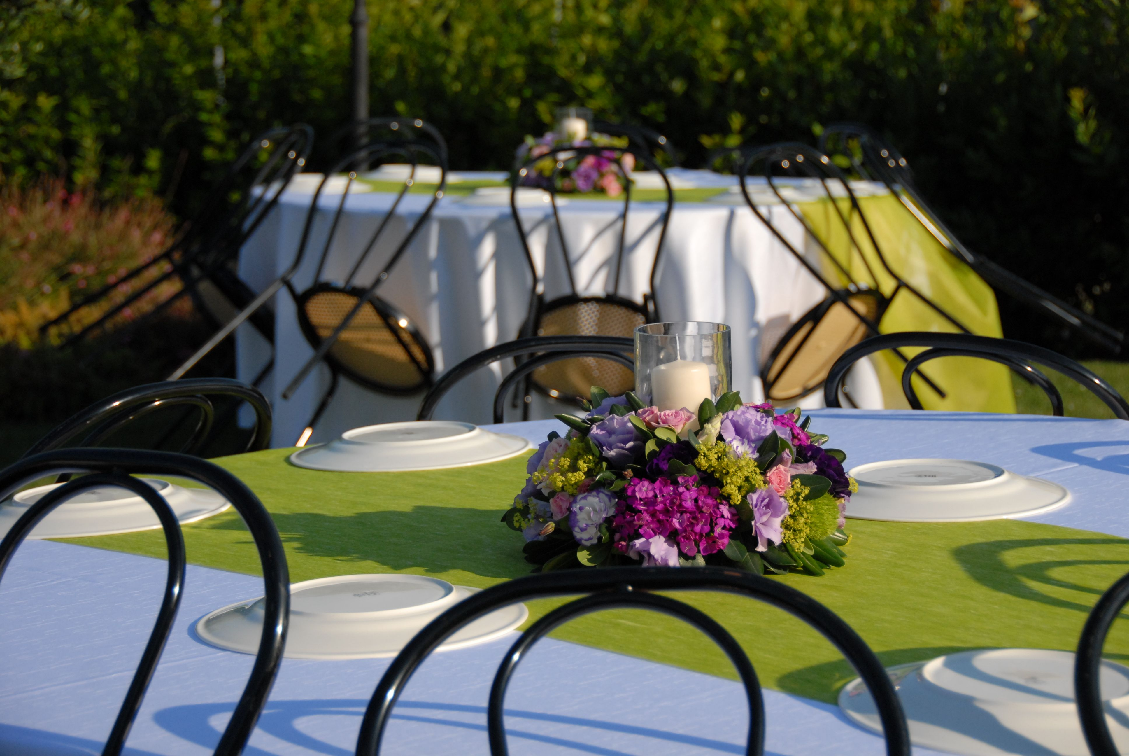 Elegant in giardino privato with allestire giardino for Allestire un piccolo giardino