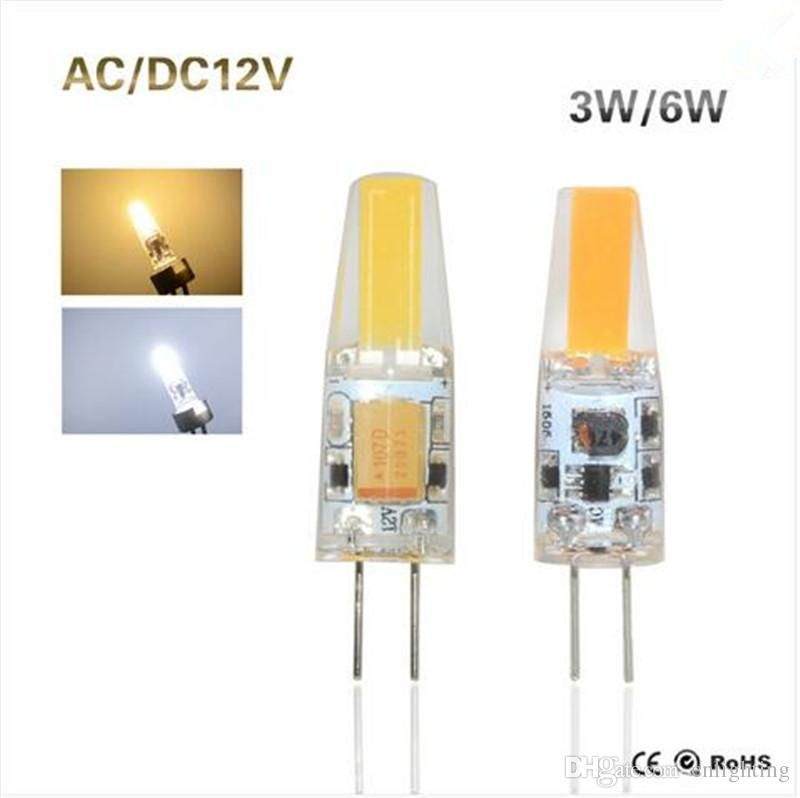 G4 Cob Led Lamp 3w 6w Dc Ac 12v Led Cob Light Bulb Dimmable Super Bright Replace Halogen G4 Lamp For Chandelier Lighting Light Bulb Light Bulbs From Cnlighting Led Light Bulb