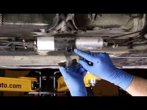 Replacing An Under Car Fuel Filter On A Bmw How To Youtube Bmw Accessories Bmw Car Fuel
