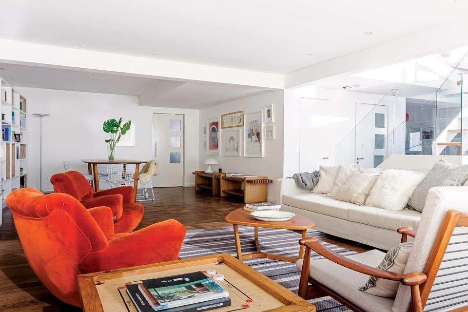 Un d plex c lido y funcional interior pinterest casa for Casa minimalista vidriada