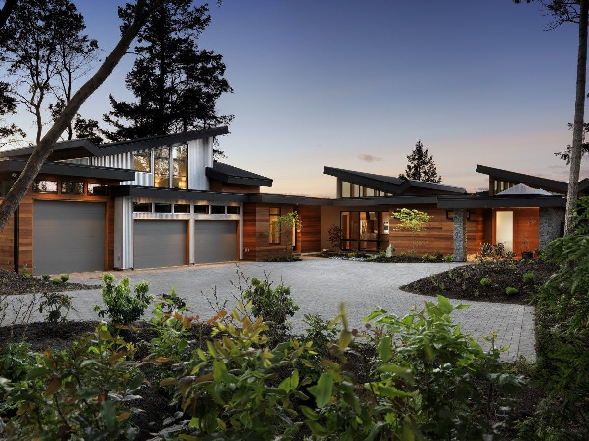 West coast contemporary touchstone by keith baker home for West coast home plans