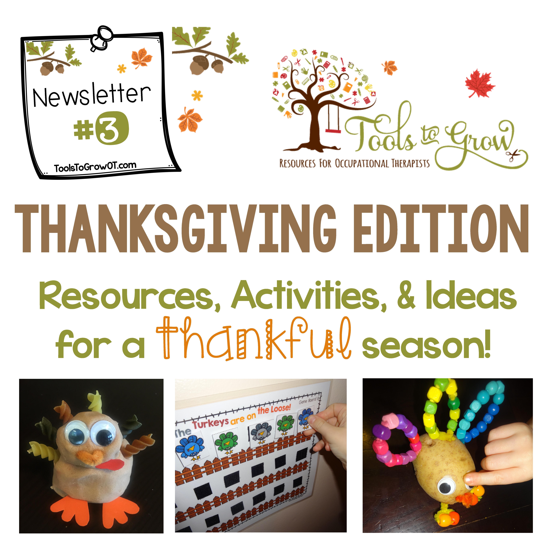 Gobbles Of Fun Thanksgiving Newsletter