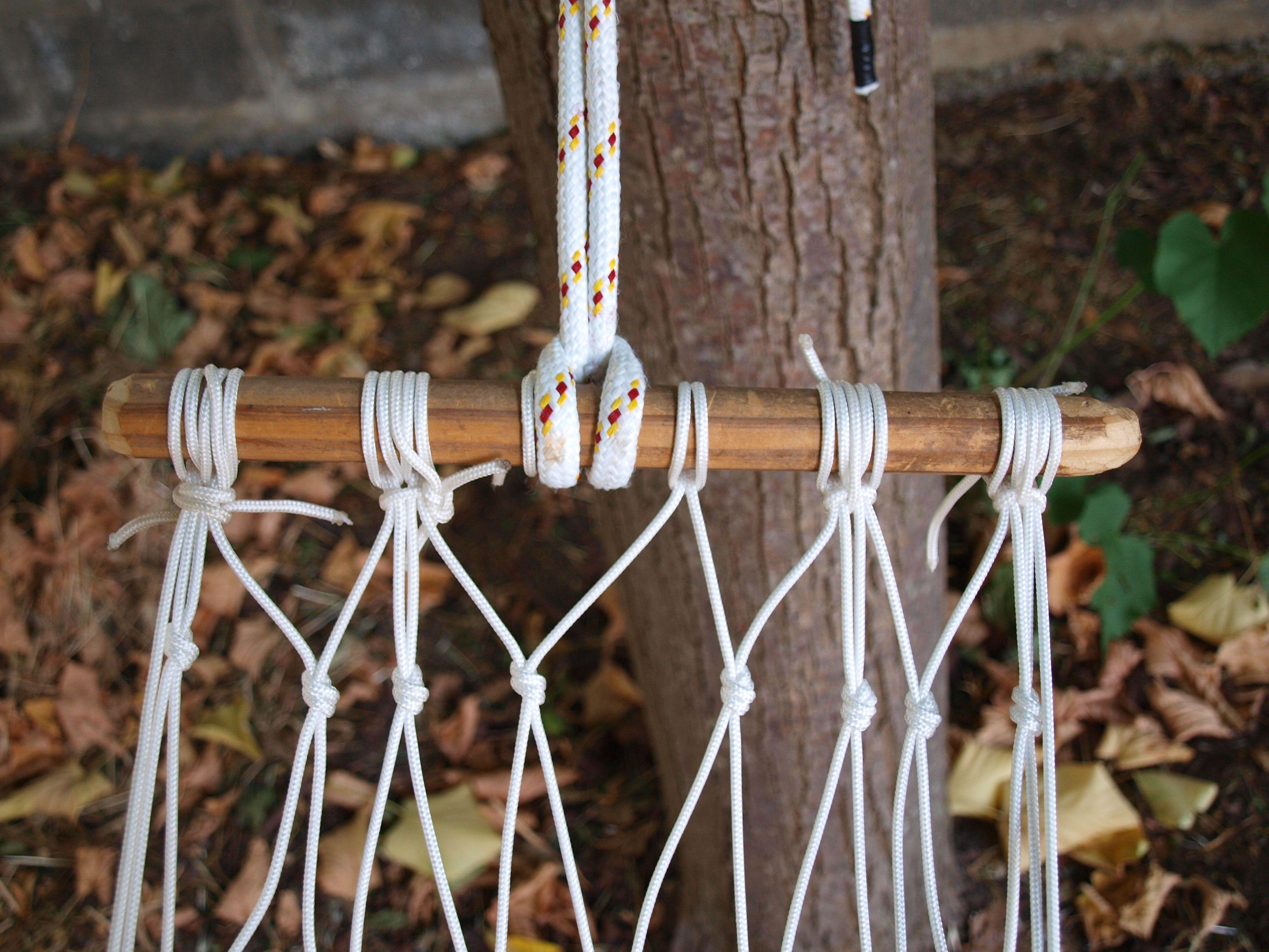 Costruire un amaca da giardino creative plant hanger home decor e macrame - Costruire un giardino ...