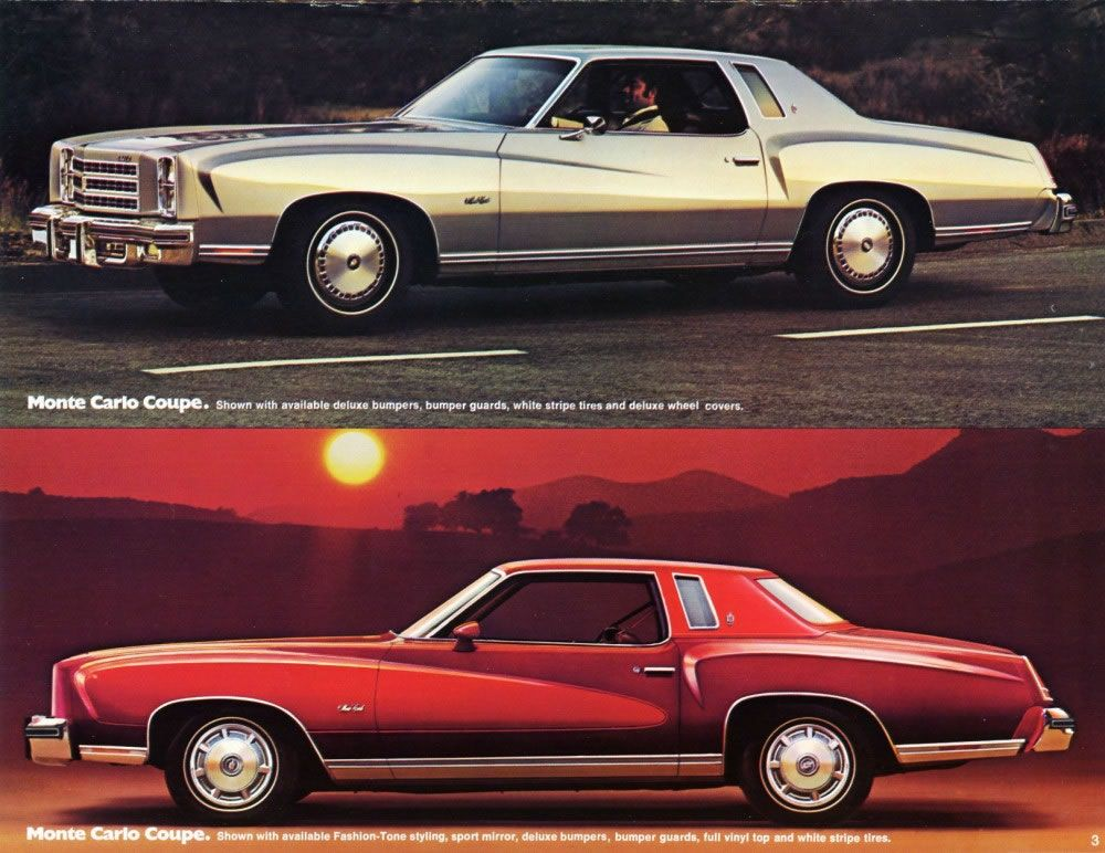 1976 Monte Carlo Like Ours Only It Was Two Tone Blue The Best