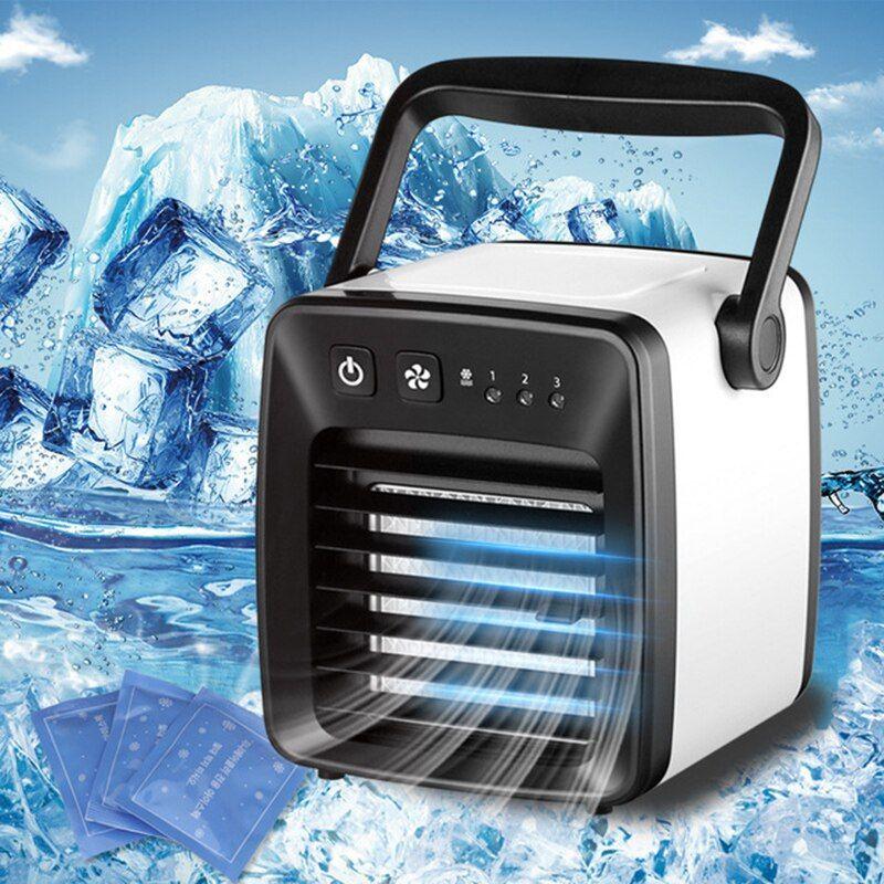 Cheap Usb Air Cooling Fan Mini Portable Air Conditioner Small
